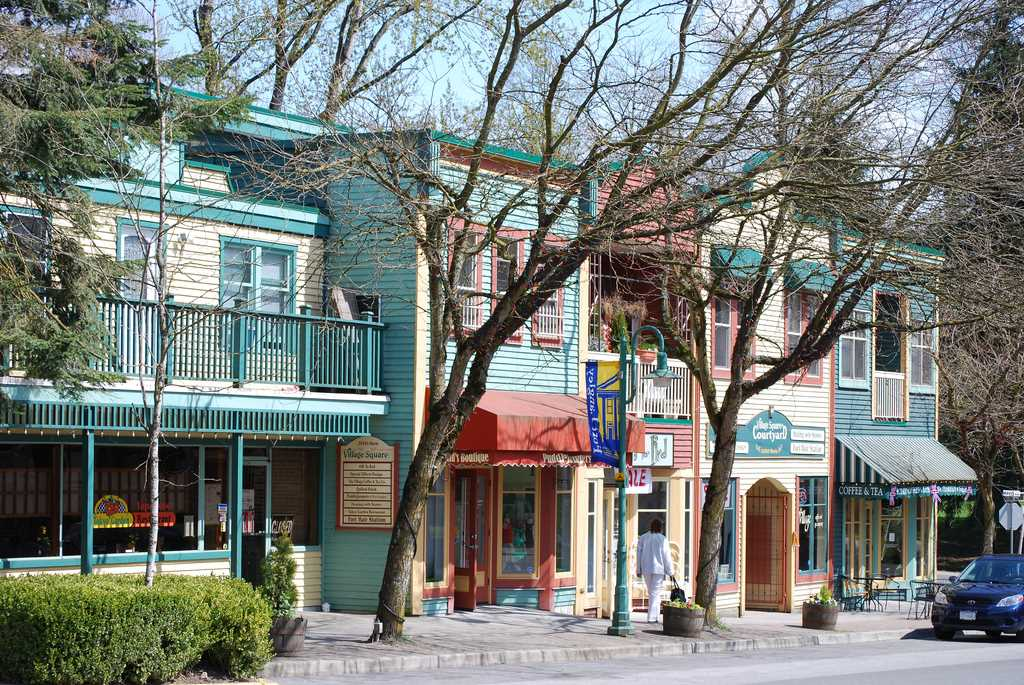 Downtown Fort Langley Image Credit Wikipedia